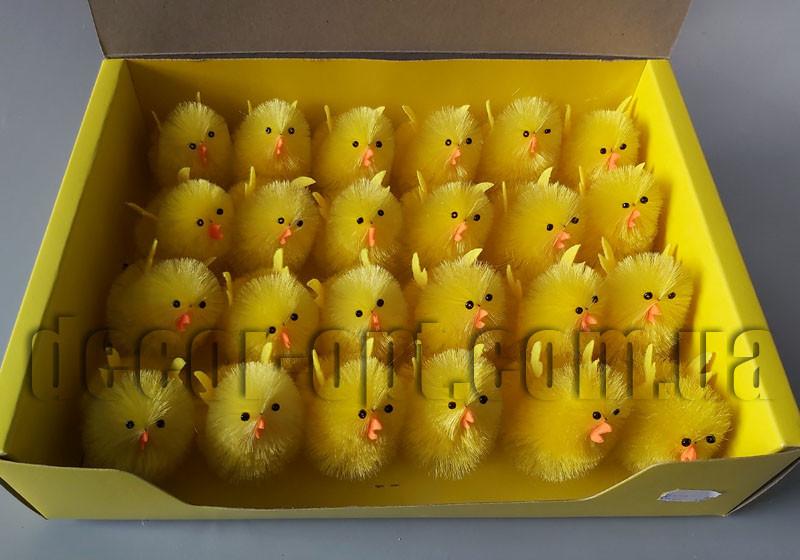 Цыпленок с крыльями на ножках 5,5см/24 шт GX93005