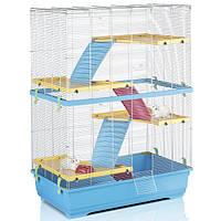 Клетка для грызунов Imac Rat 80 Double, голубая