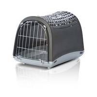 Переноска для собак и кошек Imac Linus Cabrio,  темно-серая
