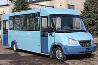 Лобовое стекло на автобус Рута 25 (19 М)