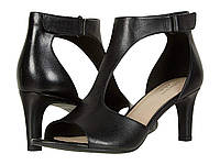 Туфли на каблуке (Оригинал) Clarks Alice Flame Black Leather