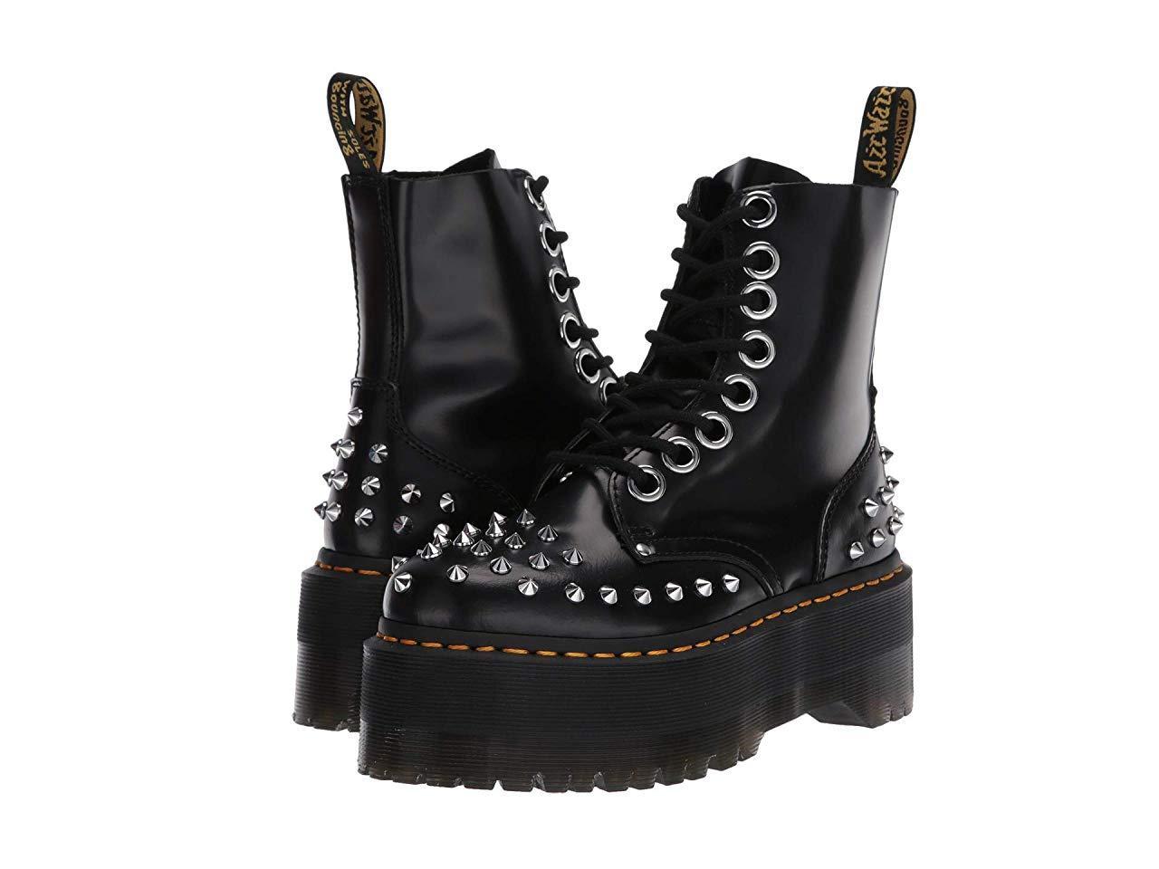 Ботинки/Сапоги Dr. Martens Jadon Max Stud Platform Black