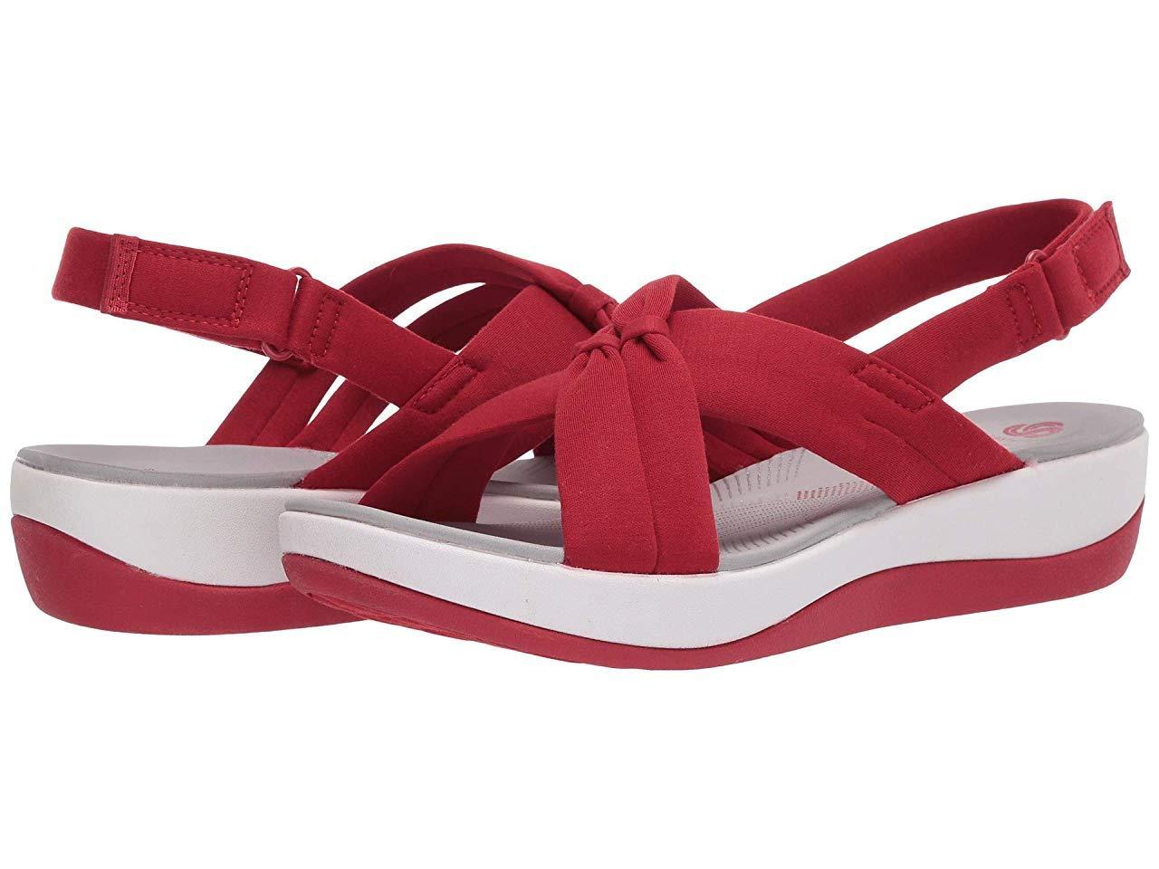 Сандали/Вьетнамки Clarks Arla Belle Red Heathered Textile