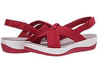 Туфли на каблуке (Оригинал) Clarks Arla Belle Red Heathered Textile
