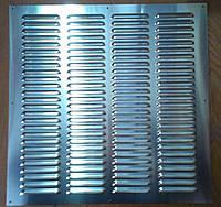 Решетка вентиляционная алюминиевая А 400 * 400