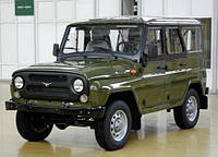 Лобовое стекло УАЗ 469 цельный, триплекс