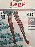 Женские колготки Legs bikini 40den Цвета: чен,беж.Купить