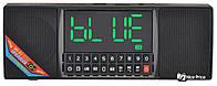 Портативная Bluetooth колонка Wster WS-1515 с часами и радио Black