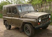 Лобовое стекло УАЗ 469 половинка, триплекс