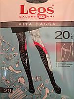 Женские колготки Legs vita bassa 20den,Цвет черный,купить оптом и в розницу