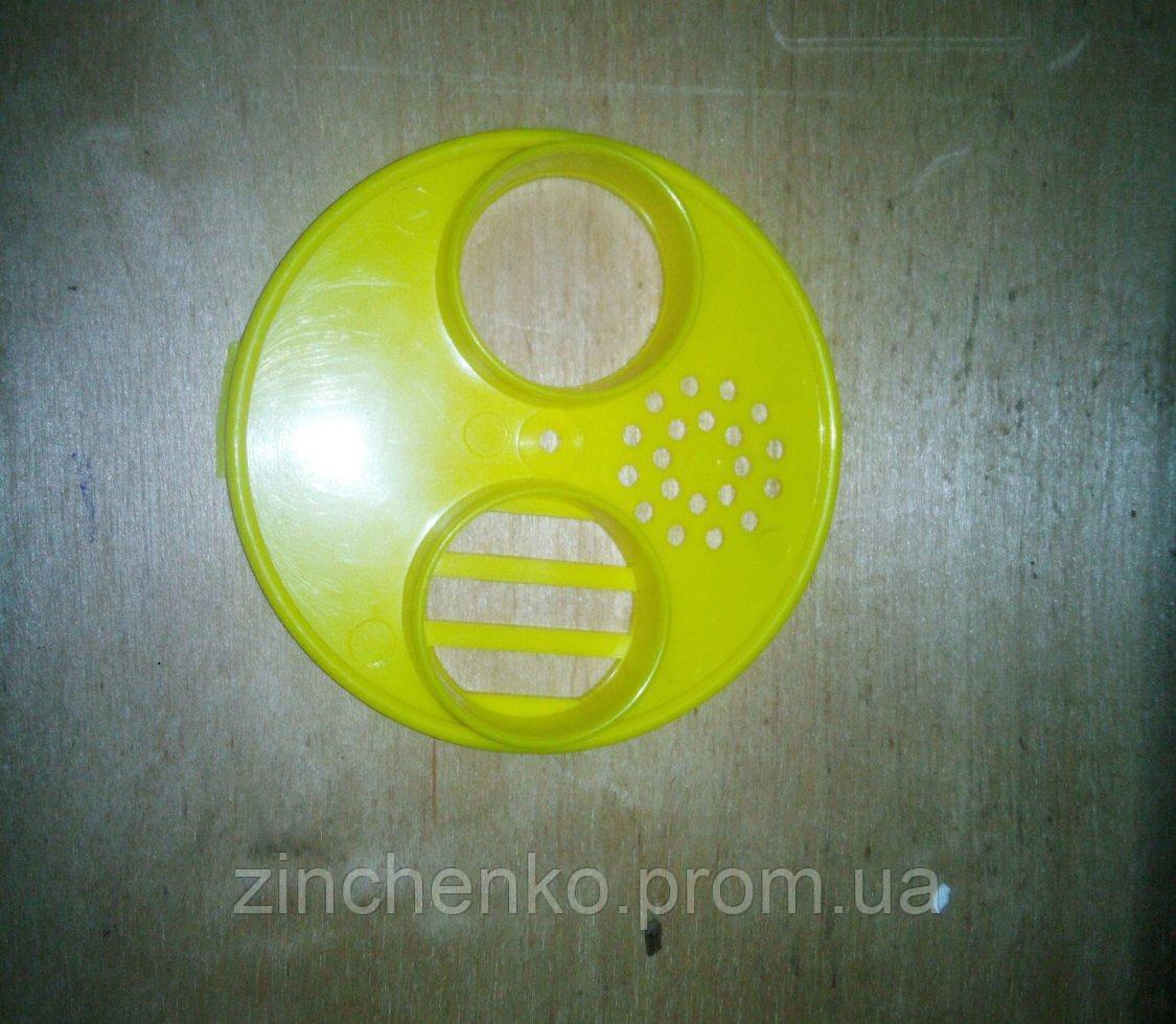 Летковий загороджувач круглий пластмасовий 70мм