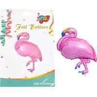 """Фольгированый шарик """"Фламинго"""" 51*105 см"""