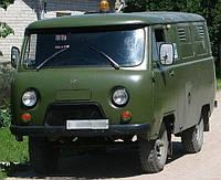 Лобовое стекло УАЗ 452, триплекс
