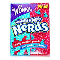 Конфеты Nerds тропический пунш и розовая малина. Вилли Вонка (Willy Wonka). 46.7 грамм