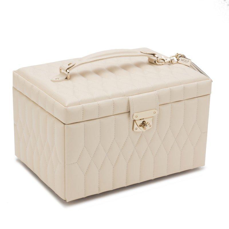 Шкатулки для украшений Wolf 329753 Caroline Med Box Ivory