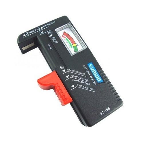 Універсальний тестер заряду батарей BT-168 ААА АА