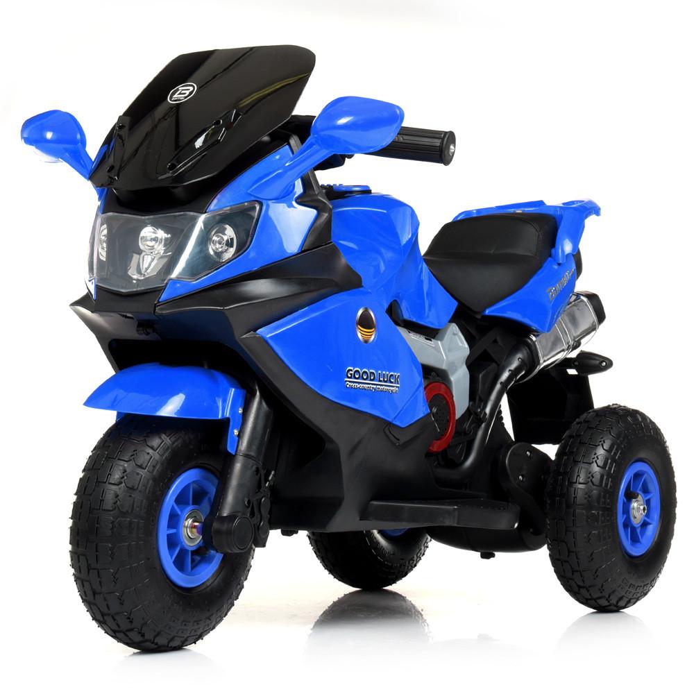 Детский трехколесный мотоцикл BAMBI M 4189AL-4 синий