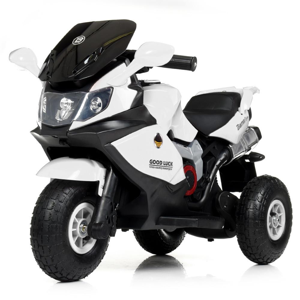 Детский трехколесный мотоцикл BAMBI M 4189AL-1 белый