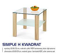 Стол журнальный SIMPLE H KWADRAT дуб сонома