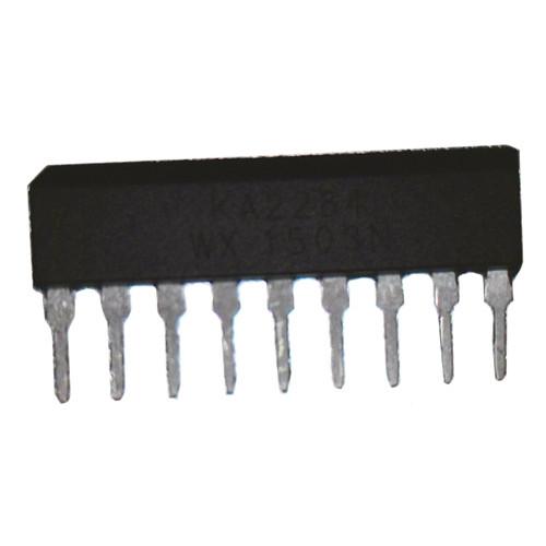 Чип KA2284 SIP9, LED индикатор уровня сигнала, заряда