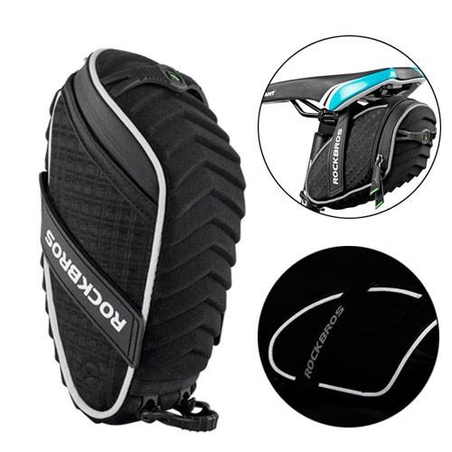 Велосипедная сумка подседельная Rockbros противоударная, микрофибра