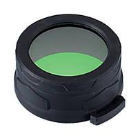 Диффузор фильтр для фонарей Nitecore NFG70 (70mm), зеленый