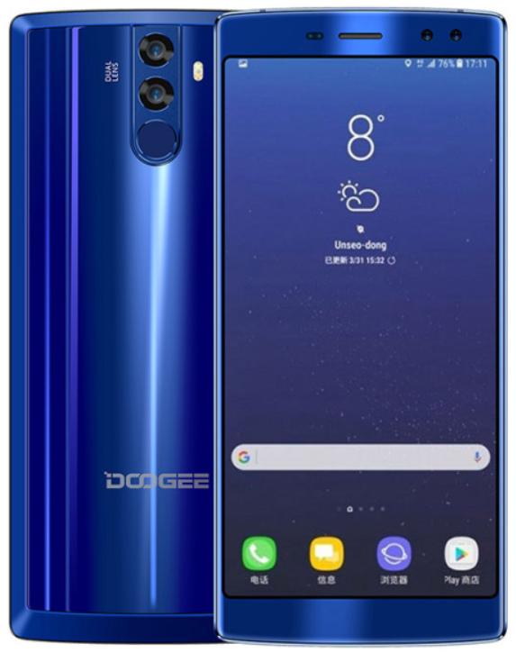 Doogee BL12000 4/32 Gb blue, 4G