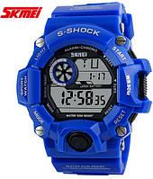 Часы военные Skmei 1019 Blue