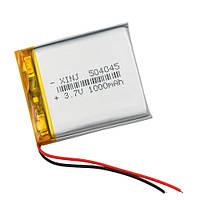 Аккумулятор 504045 Li-pol 3.7В 1000мАч для RC моделей DVR GPS MP3 MP4