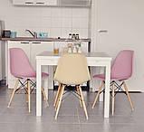 Стул Тауэр Вуд розовый пластик ножки бук СДМ группа (бесплатная доставка), фото 9