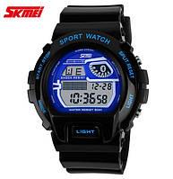 Часы военные Skmei 1010 Black-Blue