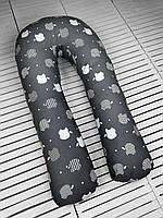 U-образная подушка подкова обнимашка для беременных Esen Apple XL 120x60 см (107 019 XL)