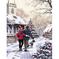 Картина по номерам Канун Рождества 40*50 см (GX3920)
