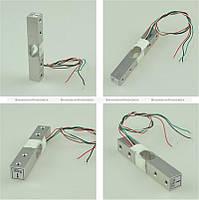 Тензометрический датчик на 5 кг Тензодатчик для весов, фото 1