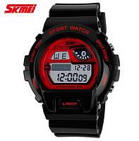 Часы военные Skmei 1010 Black-Red