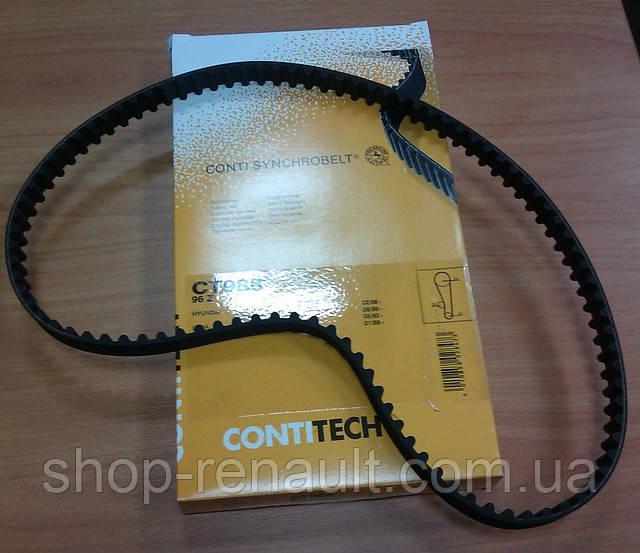 Ремень ГРМ 1.4/1.6 MPI Contitech CT988 OEM 6001643400  7700273650  8200537021  7700273279