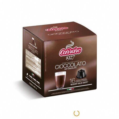 Горячий шоколад в капсулах Carraro Cioccolato 16шт