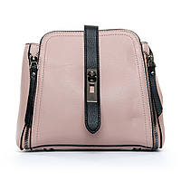 Утонченная стильная женская сумка из искусственной кожи (23*18*11см) FASHION, 1-01 969 pink