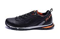 Мужские кожаные кроссовки Nike Flex Zone (реплика), фото 1