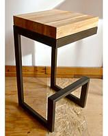 Барный стул из натурального дерева LNK_LOFT 300*300*600