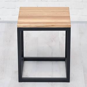 Журнальный/кофейный столик LNK-LOFT из натурального дерева 400*480*400