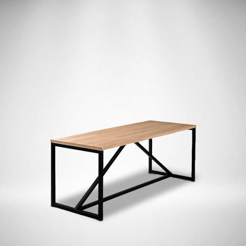 Журнальный стол LNK loft из натурального дерева 1200*450*450