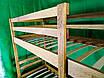 Двухъярусная дубовая кровать LNK Company, фото 2