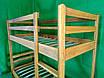 Двухъярусная дубовая кровать LNK Company, фото 3