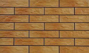 Фасадный камень Cerrad Cer 5 bis 30x7.4 Желтый (hub_Ckvk04728)