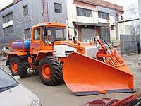Снегоочиститель навесной плужный (локомобиль, тяговый модуль, маневровый тягач)