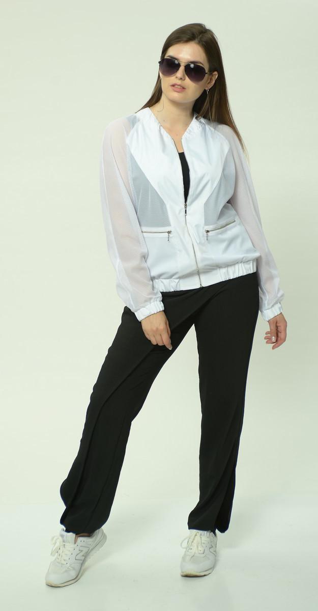 Куртка Mali-118 белорусский трикотаж, белый, 46