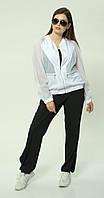 Куртка Mali-118 белорусский трикотаж, белый, 46, фото 1