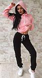 Тёплый костюм спортивный женский без карманов  Ткань - трёхнитка на флисе. И Г, фото 3