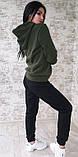 Тёплый костюм спортивный женский без карманов  Ткань - трёхнитка на флисе. И Г, фото 7